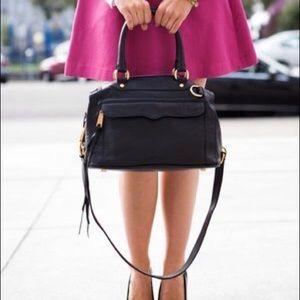Rebecca Minkoff MAB Mini Satchel Bag // Black